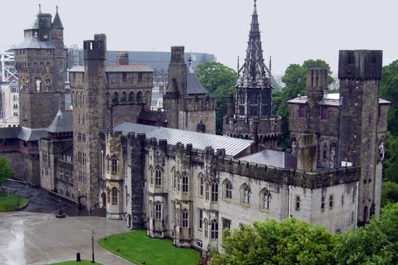 Посещение Кардиффского замка